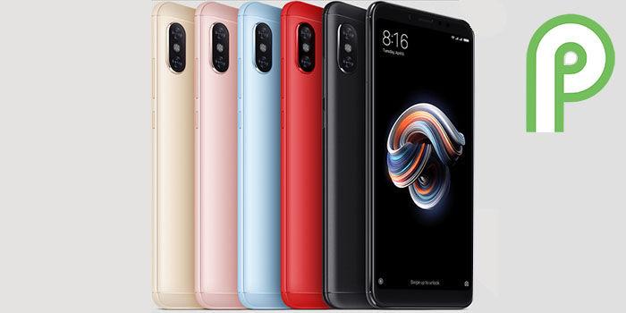 redmi 5 pro android pie version estable