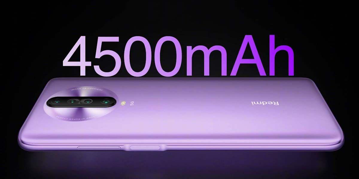 redmi k30 5g rendimiento bateria