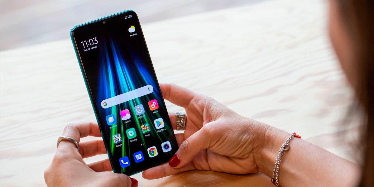 redmi note 8 actualizar android 10 rom personalizada