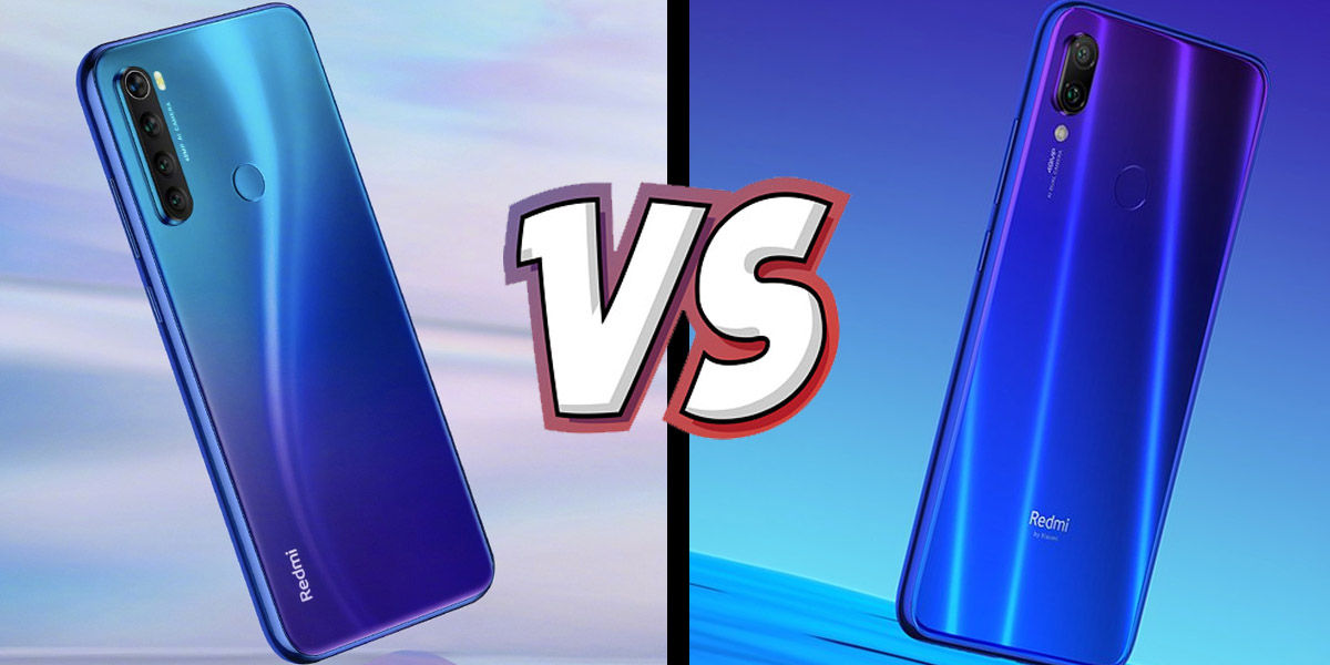 redmi note 8 vs redmi note 7 comparativa diferencias