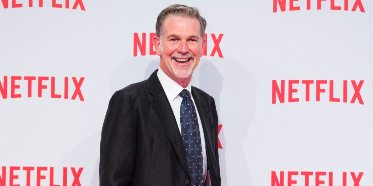 reed hastings ceo netflix