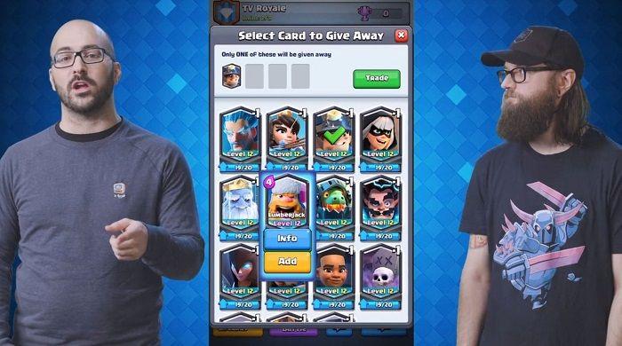 regalar cartas clash royale