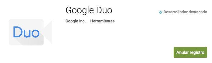 registro google duo
