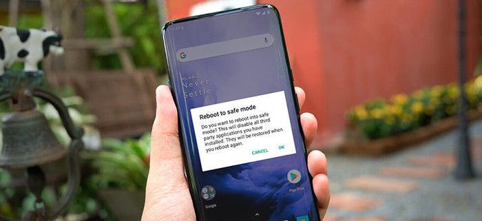 reiniciar modo seguro android