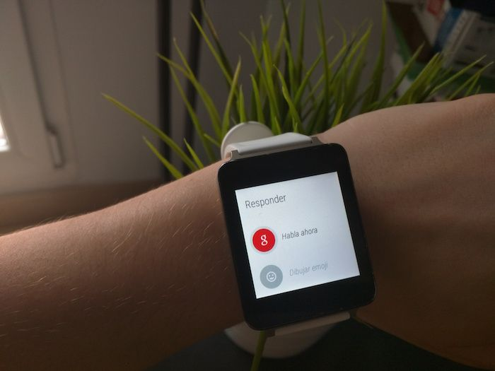 responder mensajes android wear