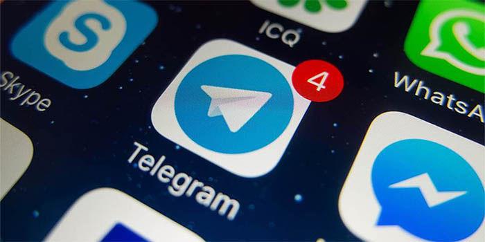 restablecer contactos de telegram