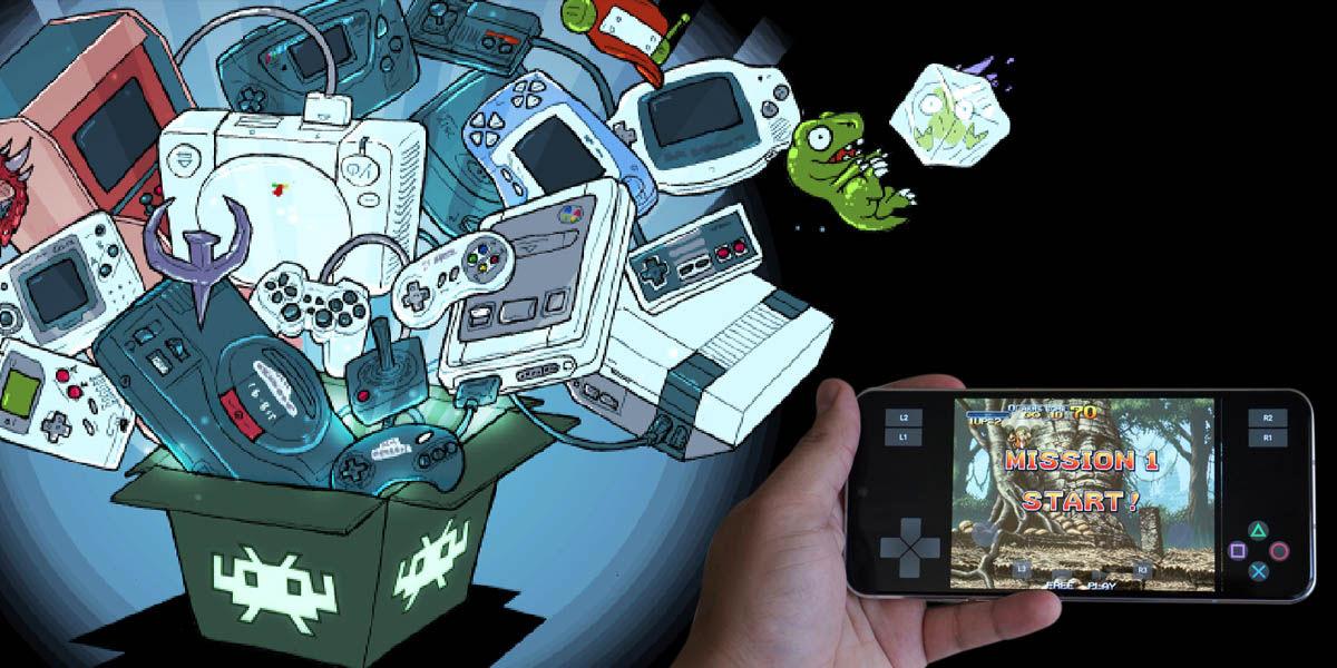 retroarch emulador retro rom android