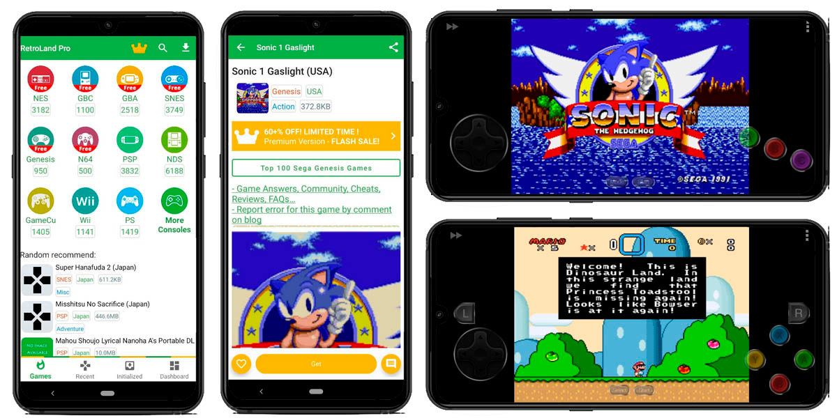 retroland pro emulador multiconsola android