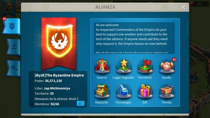 rise of civilizations como crear alianza