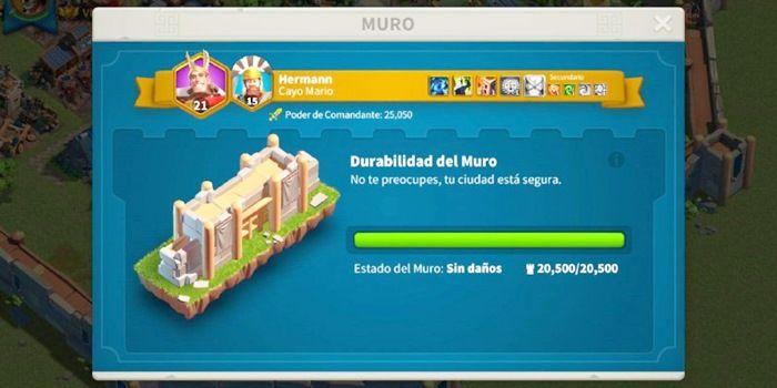 rise of civilizations muro mejorar