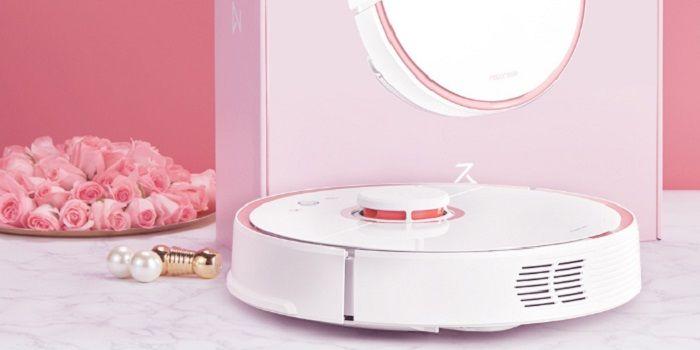 robot aspirador rosa xiaomi