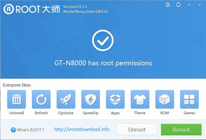 rootear android con vroot