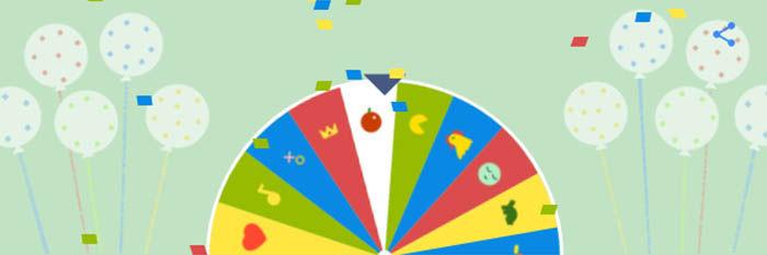 ruleta de la fortuna de google doodle