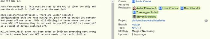 rumor de que el NFC funcionara apagado