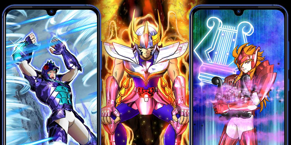 saint seiya shining soldiers personajes varios atributos