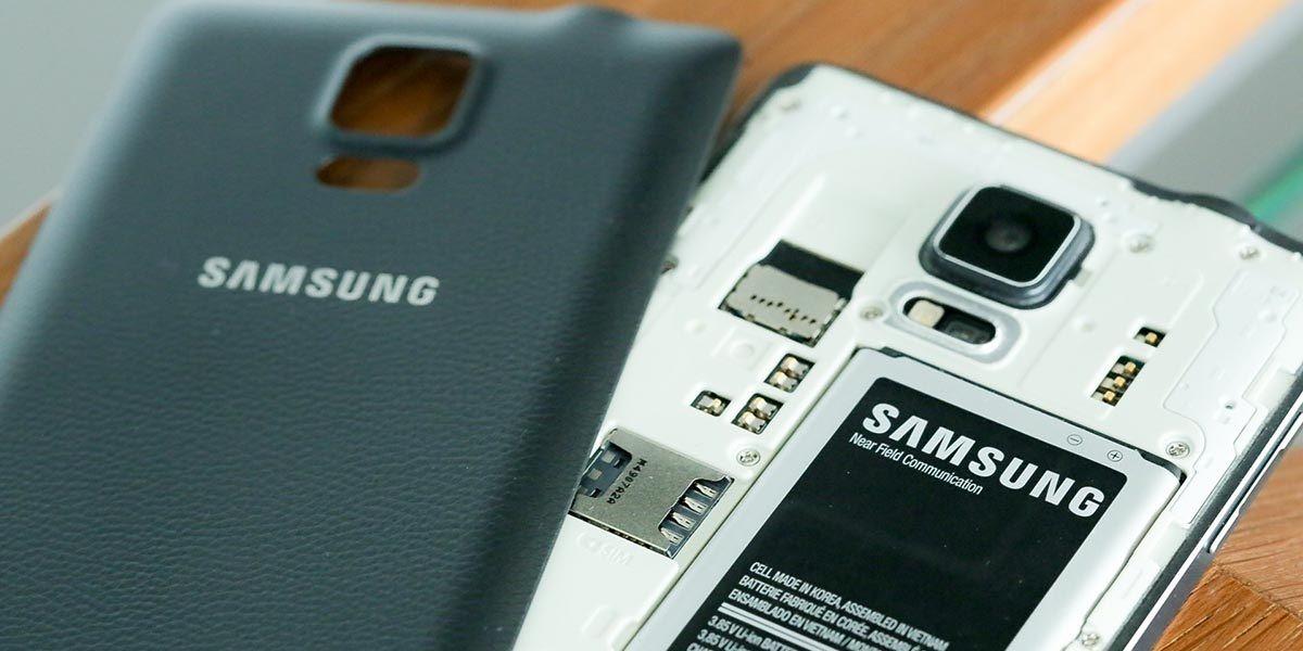 samsung bateria extraible