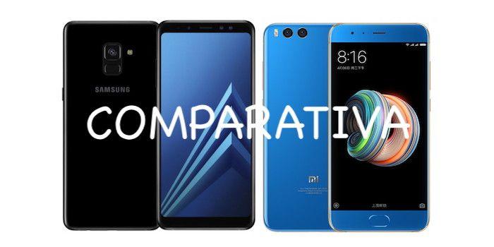 0825e43f9d Comprar el Galaxy A8 o el Xiaomi Mi Note 3