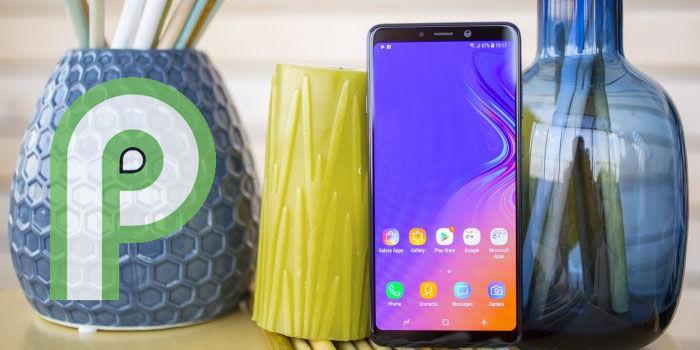 samsung galaxy a9 2018 actualizacion android pie europa