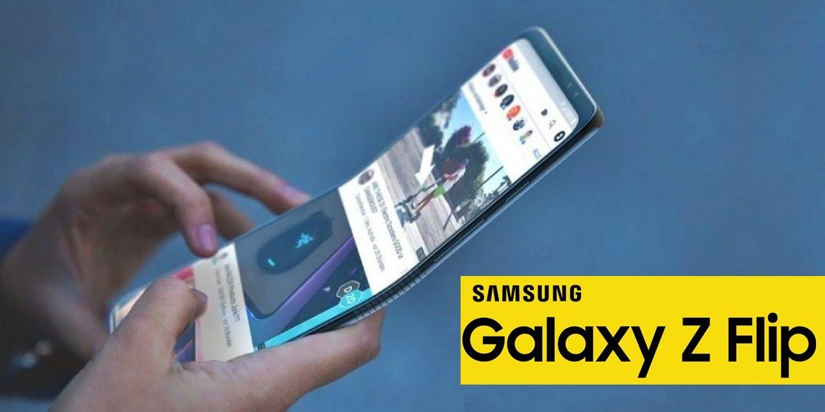 samsung galaxy flip smartphone plegable