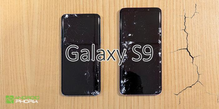 samsung galaxy s9 poco resistente