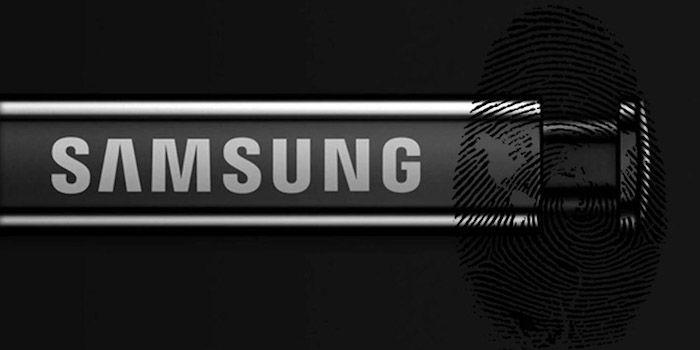 samsung patenta sensor de huellas pantalla