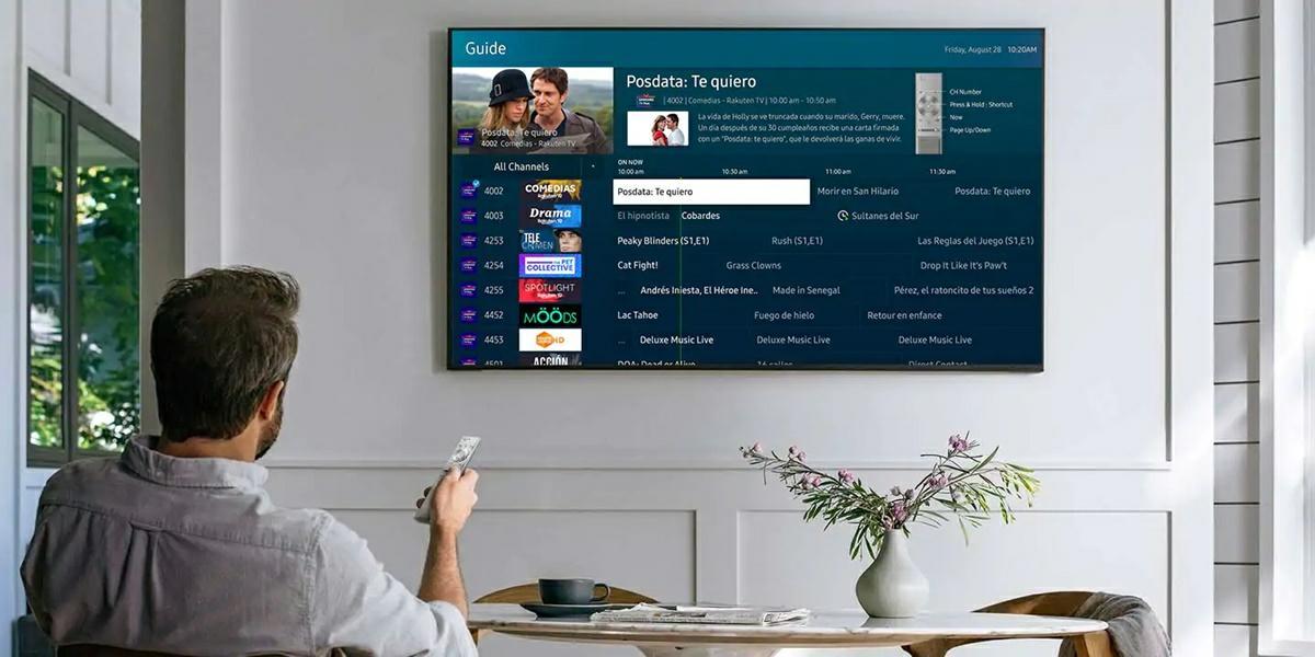 samsung tv plus contenido