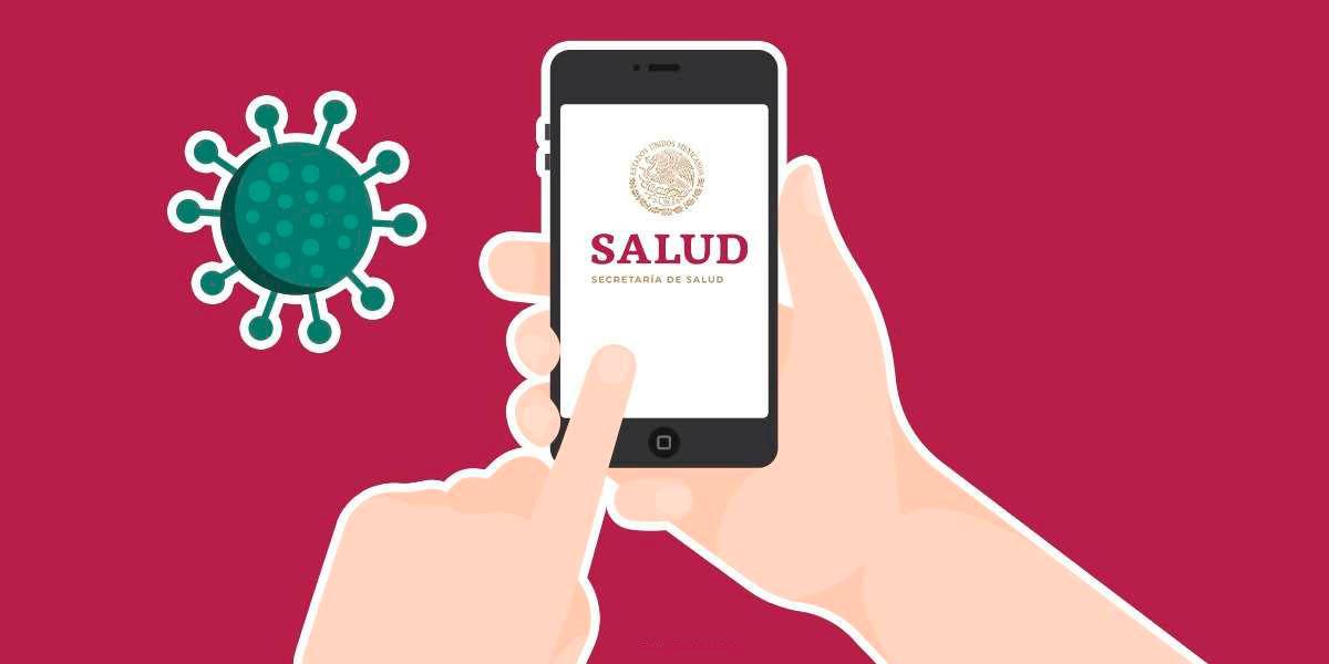 secretaría salud mexicana lanza aplicacion android informa coronavirus