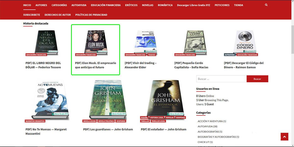 seleccionar libro descargar gratis librosgratisxyz