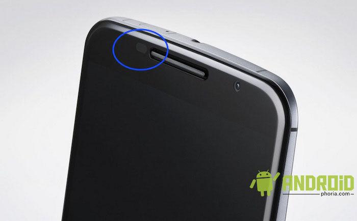 sensor proximidad nexus 6