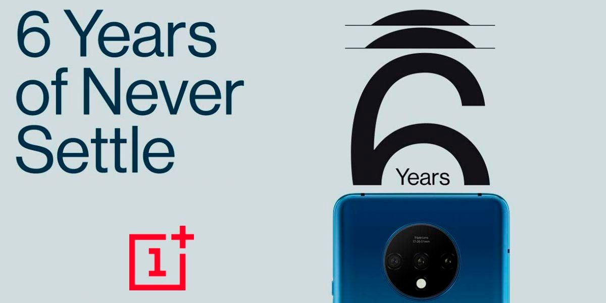 sexto aniversario OnePlus