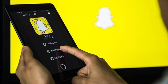 silenciar contactos de Snapchat