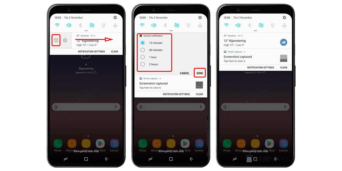 silenciar notificaciones aplicaciones android
