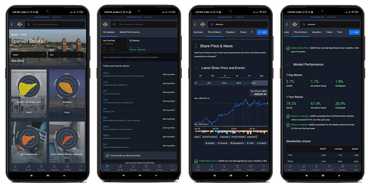 simply wall st app inversión mercado valores android