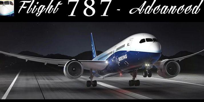 simulador de vuelo android flight 787