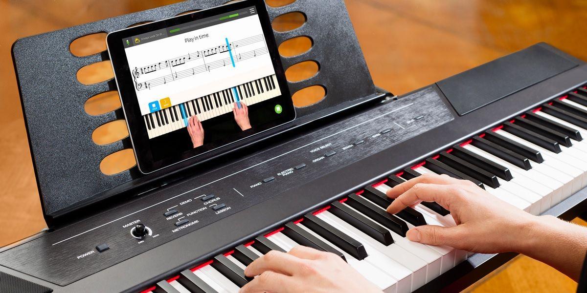 skoove app para tocar piano