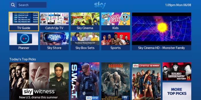 sky tv peliculas y series