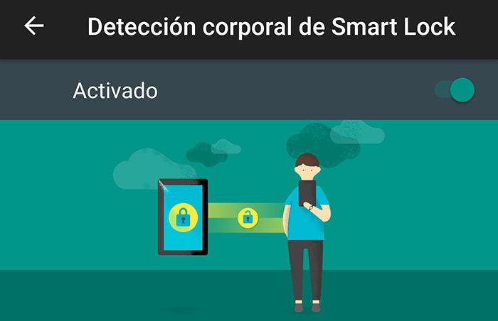 Smart Lock detección corporal