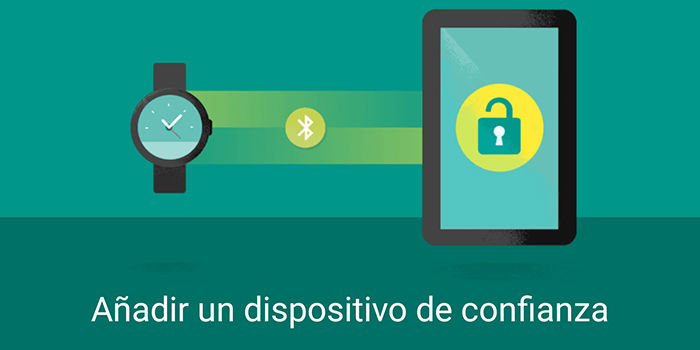 Smart Lock dispositivos de confianza