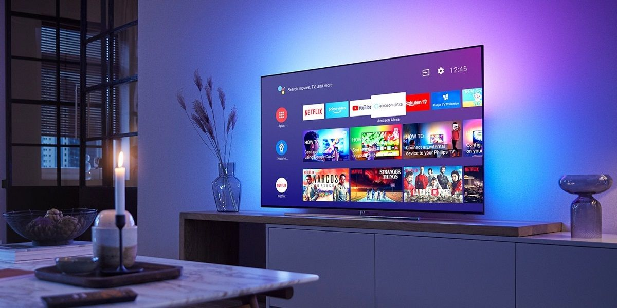 Smart TV con Android TV