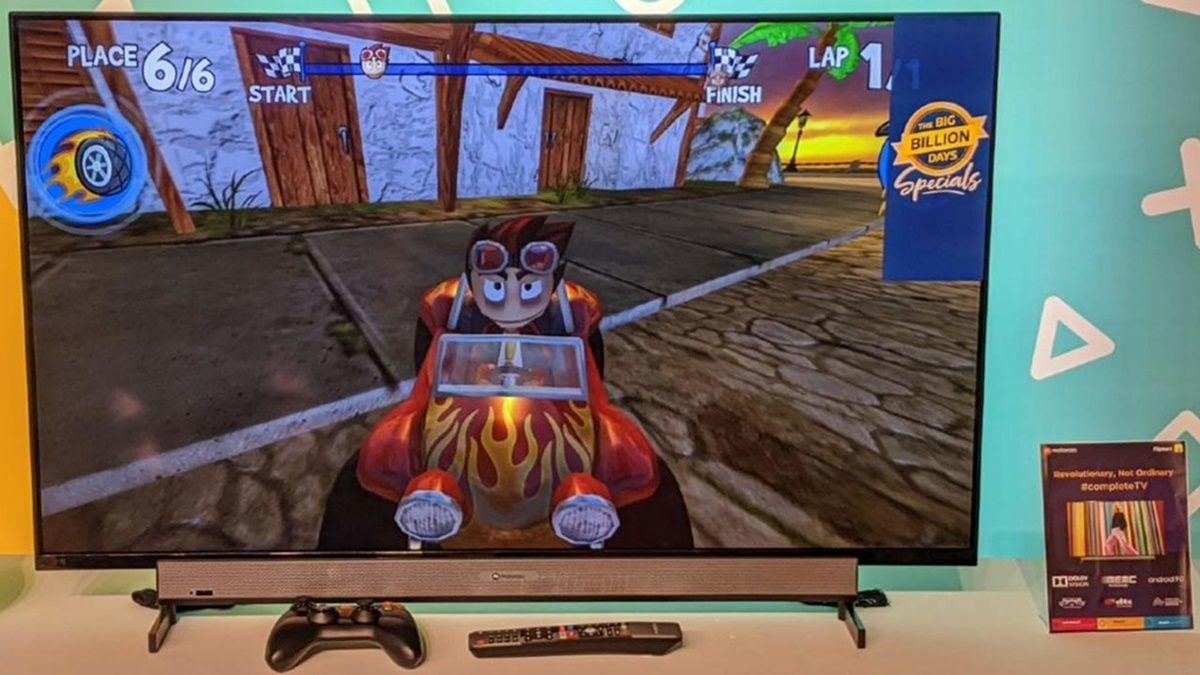 smart tv motorola videojuegos