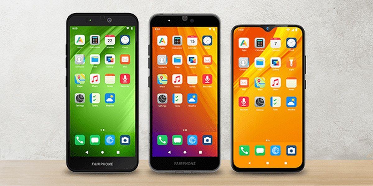 smartphone fairphone con e os