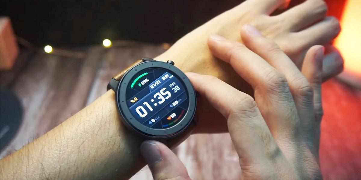 smartwatch amazfit gtr gearbest garantia