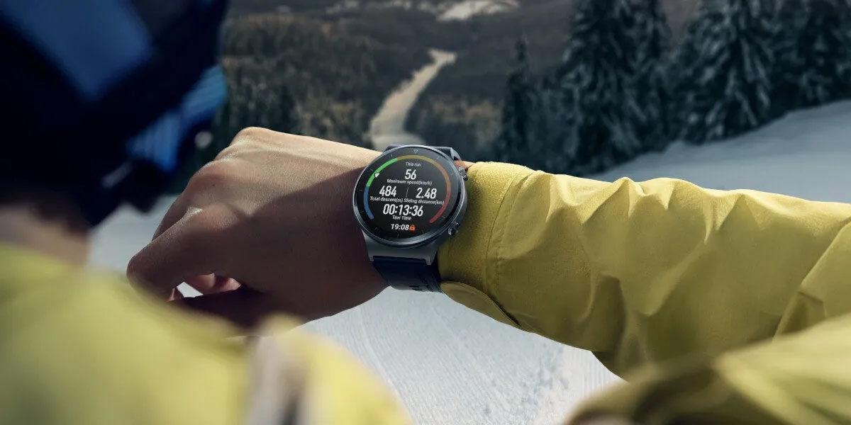 smartwatch carga con movimiento