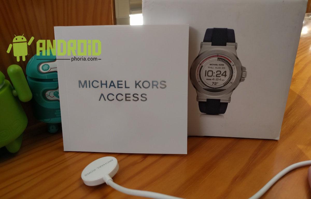 b18ac71a416 Análisis: Smartwatch Michael Kors Access Dylan