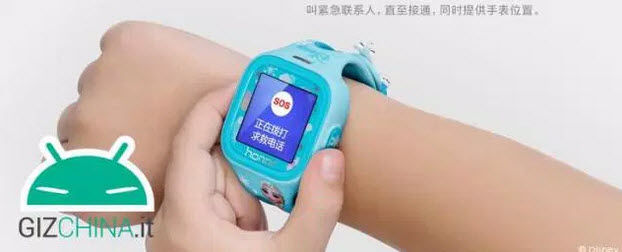 smartwatch para niños Honor k-way1