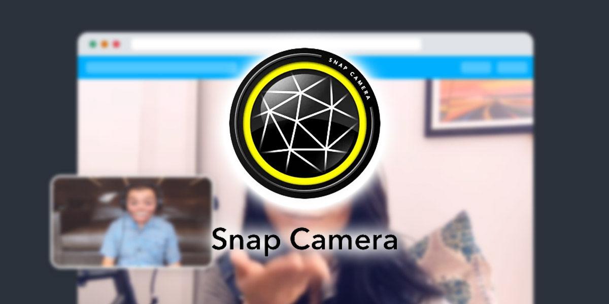 snap camera usar filtros snapchat webcam pc mac