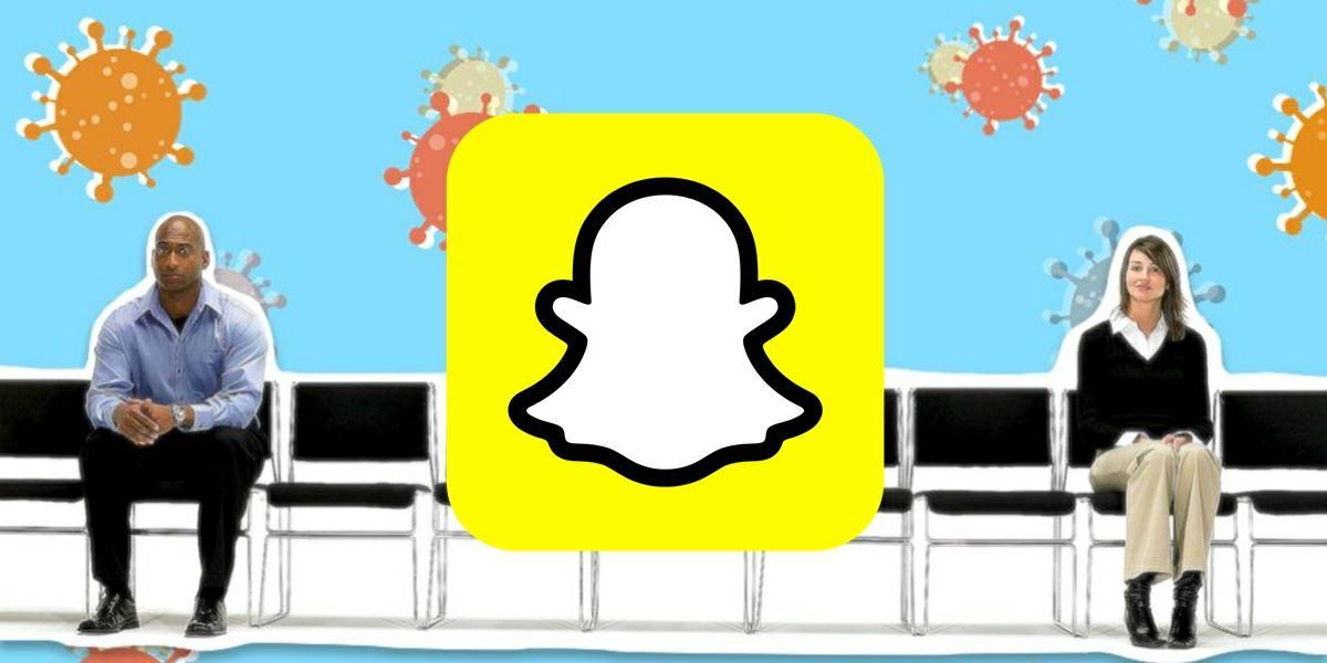 snapchat lanza filtro de 1 metro contra el coronavirus
