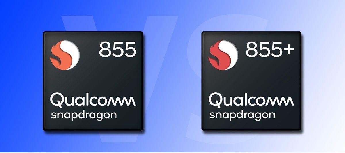 snapdragon 855 y 855 plus