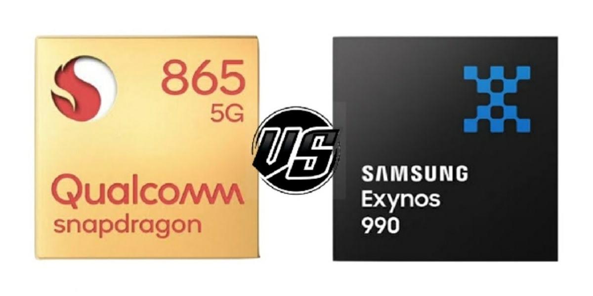 snapdragon 865 vs exynos 990