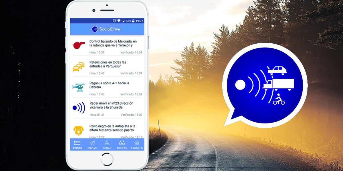 social drive radares funcionamiento